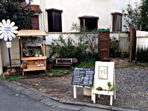 仙川の隠れ家カフェ「ニワコヤ」のオーガニック野菜販売のイメージ画像