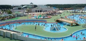 辻堂海浜公園のプールが夏場に人気の画像