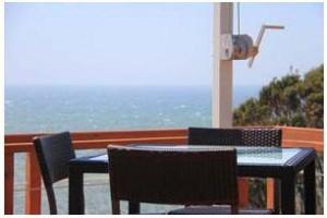 イルキャンティ カフェからの景色