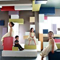 赤ちゃんや子どものための写真スタジオのイメージ