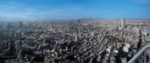 子連れでおでかけする東京タワー展望台からの眺望の画像