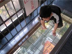 子連れで行く東京タワーの特別展望台の画像