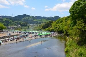 秋川橋河川公園