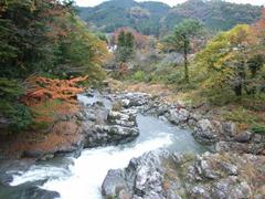 秋川渓谷十里木