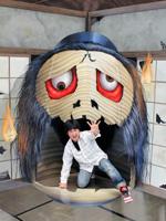 美術館「東京トリックアート迷宮館」の妖怪の展示