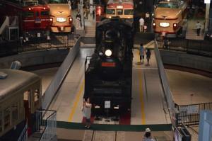 大宮 鉄道博物館の展示車両(機関車)