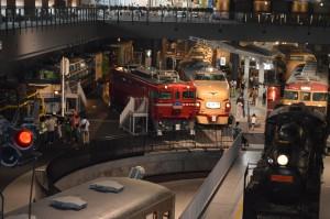 大宮 鉄道博物館の展示車両(在来線)