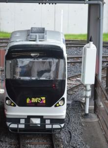 大宮 鉄道博物館のミニ運転列車