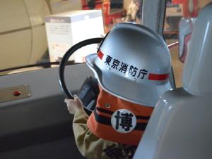 消防博物館にある衣装