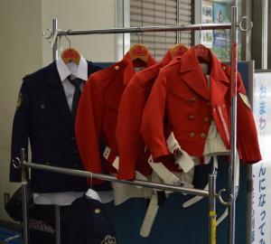 警察博物館にある衣装