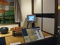 子連れ東映アニメーションギャラリーの昔の家庭の展示
