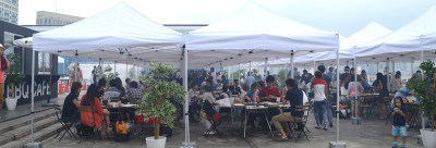 東京お台場にある人気バーベキュースポットデジキューの画像