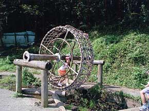 「関東」の「神奈川」の中にある「横浜市つくし野」のアスレチック遊具①の様子