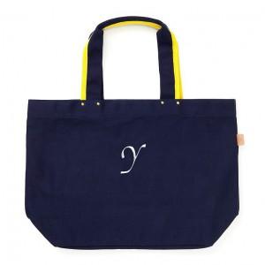トートバッグのおしゃれなトプカピのイニシャルバッグの画像01