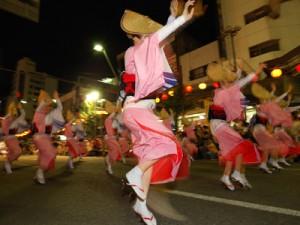 世田谷夏祭りで楽しめる阿波踊りの画像