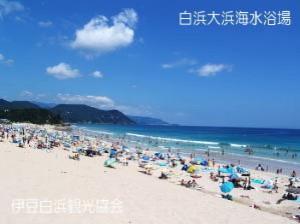 【伊豆・海水浴】7月から海開き!子連れ海水浴場のオススメ12選!白浜大浜海水浴場