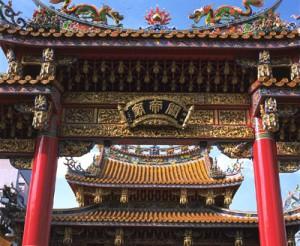 子連れで行きたい横浜中華街の関羽廟の外観