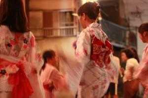 世田谷区の夏祭りの阿波踊りイメージ画像