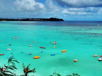 グアム旅行のおすすめスポットといえば海の画像