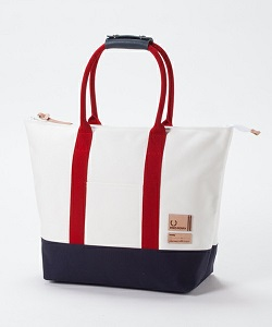 FREDPERRYというブランドの子持ちママのためののトートバッグの画像