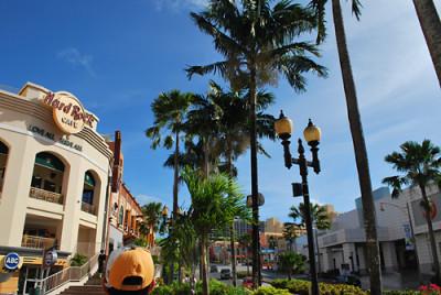 グアムのおすすめスポットの街並みの画像
