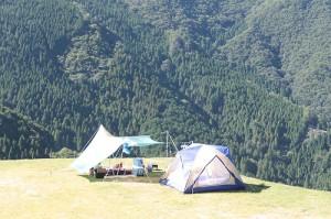 関西のキャンプといえば、若杉高原おおやキャンプ場の画像