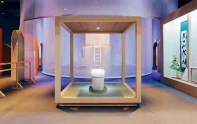 日本未来館で催されているトイレトレーニングのやり方を学ぶためのコンセプトトイレの画像