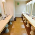 阿佐ヶ谷にある岩盤浴「東京岩盤浴」のサニタリールーム内の画像