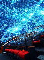 日本科学未来館の室内イメージ画像