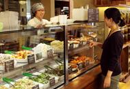 カフェで人気のデリがおいしいCafé&Meal MUJIのショーケースの画像