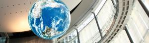 日本未来科学館にもプラネタリム鑑賞ができる画像