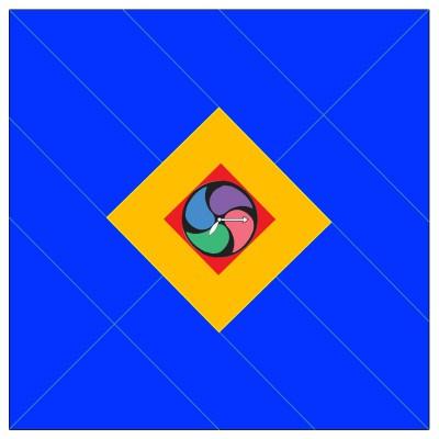 DX妖怪ウォッチタイプ零式用の折り紙