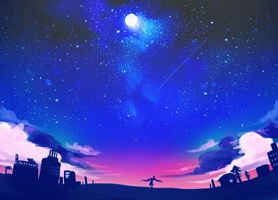 流星群のイメージ画像