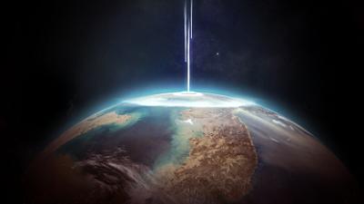 スイフト・タットル彗星衝突のイメージ画像