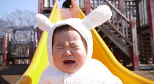 中耳炎にかかってしまった子どもと小児科におでかけ