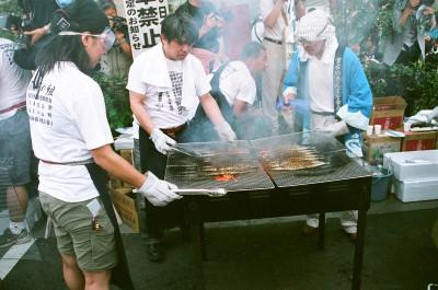 グルメの秋の人気イベントが東京目黒のさんま祭りの画像