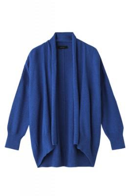 アメリカンラグ シー]の2目鹿の子羽織りブルーの画像