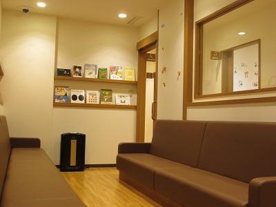 キャップスクリニック亀有の特別待合室の画像