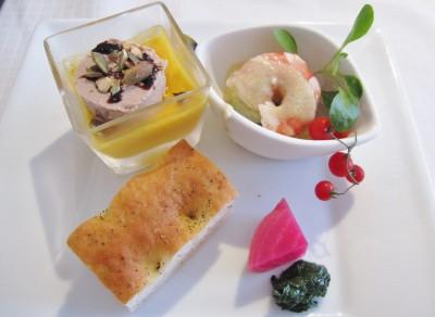 憧れのオーベルジュに家族でおでかけ・オーベルジュ湯楽の料理の画像