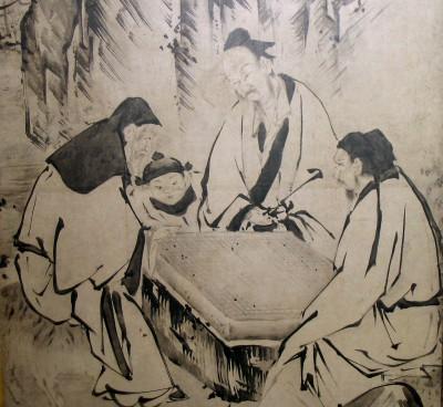 囲碁の絵画