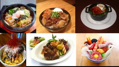グルメの秋の台東区内注目イベントの東京フードフェスの料理画像