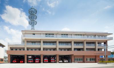 入間東部地区消防組合 防災館の外観画像