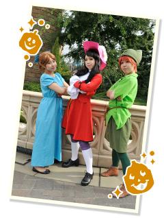 東京ディズニーランドのハロウィンには仮装ルールがあるNG画像02