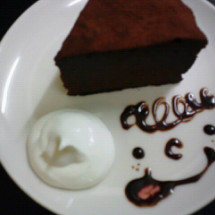 青森にある子連れで楽しめるカフェのデザート画像