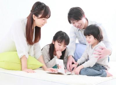 読み聞かせのおすすめ絵本・親と子ども達のイメージ画像