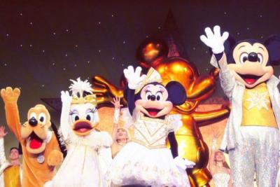 ディズニーショーの画像