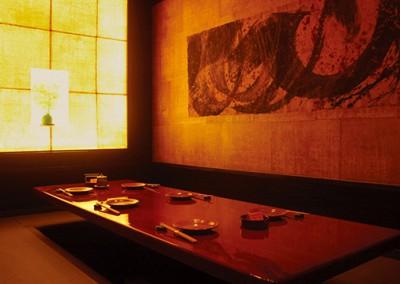 吉祥寺の子連れに便利な個室でランチが楽しめる店内画像