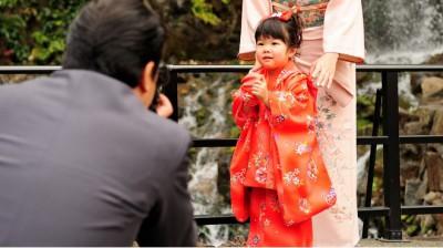 椿山荘で七五三のお祝いのイメージ画像