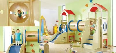 赤ちゃんの遊び場で有名なアネビートリムパークの室内イメージ画像
