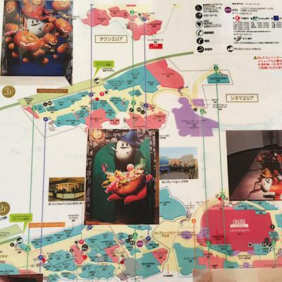 ハロウィン地図の画像